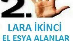 LARA SPOT İKİNCİ EL EŞYA ALANLAR